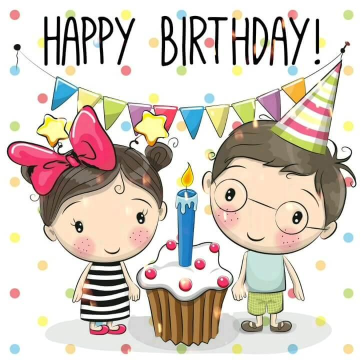 گیف متحرک تولد مبارک