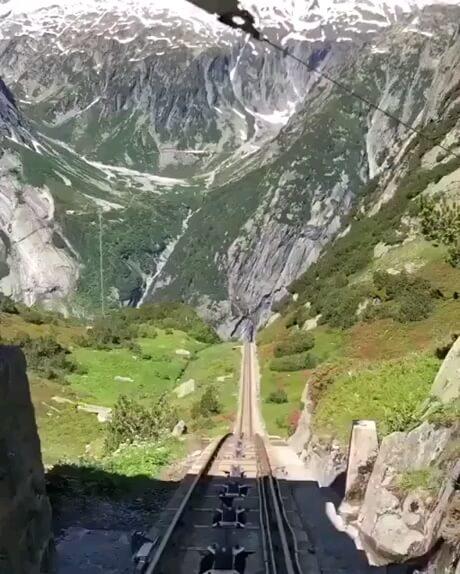 هیجان در دل طبیعت سوئیس