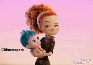انیمیشن بغل کردن و بوس کردن عاشقانه بچه