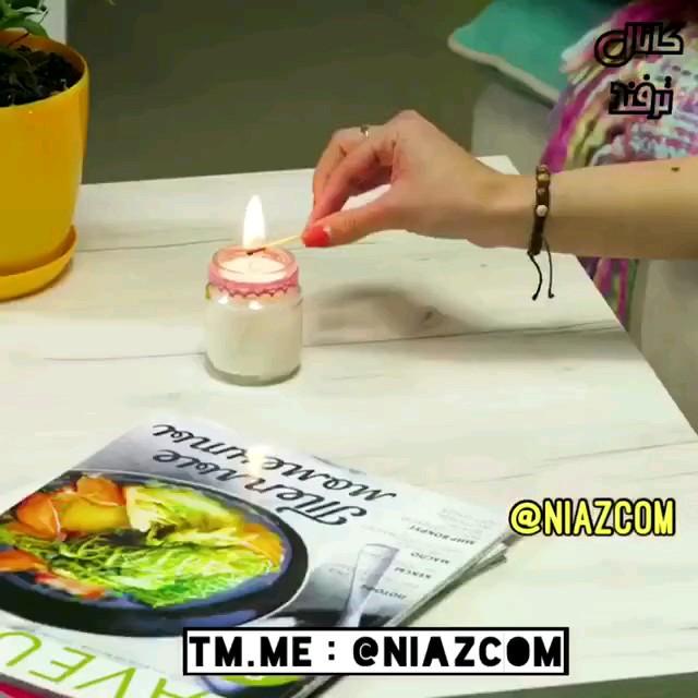 ویدیو آموزش درست کردن شمع ضد پشه | ترفند خلاص شدن از شر پشه