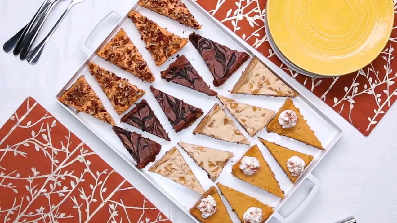 فیلم طرز تهیه ۴ مدل چیز کیک