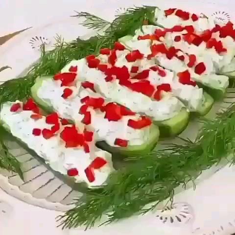 کلیپ آموزش آشپزی ماست خیار قالبی مجلسی