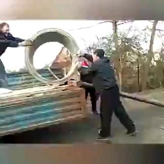 ویدیو کلیپ خنده دار از بدشانس ترین افراد جهان !