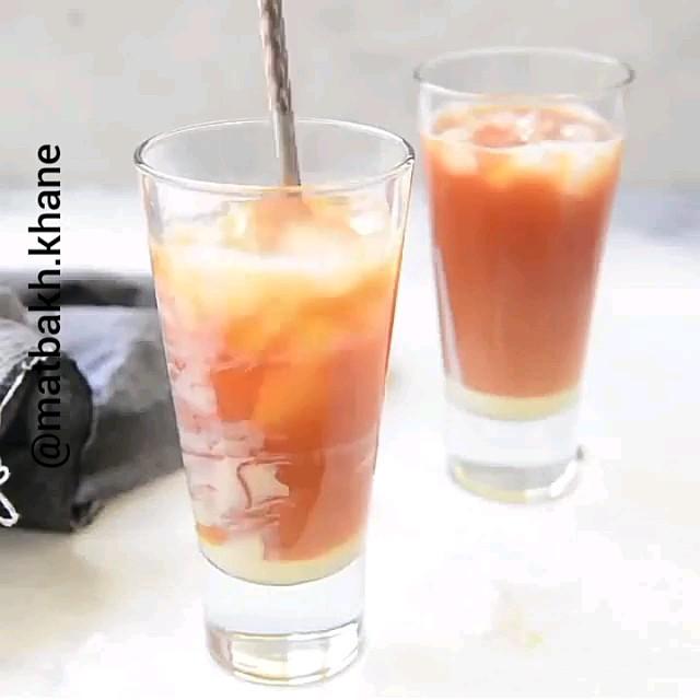 فیلم آشپزی کوتاه   طرز تهیه چای سرد تایلندی
