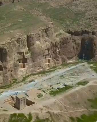 ویدیو تورگردی | نقش رستم آرامگاه داریوش بزرگ ، فارس