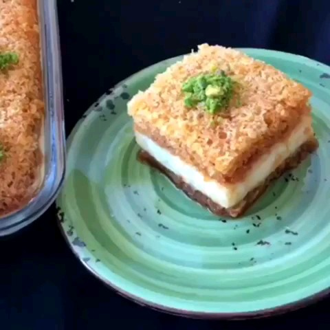 کلیپ آشپزی کوتاه | طرز تهیه کیک کاراملی کرمدار
