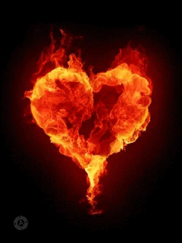 آتش و قلب