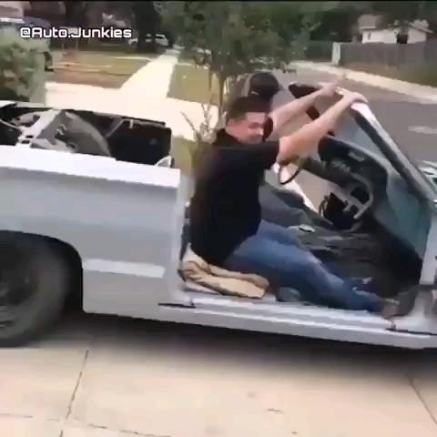 فیلم رونمایی از خودروی جدید پراید مدل کروک :))