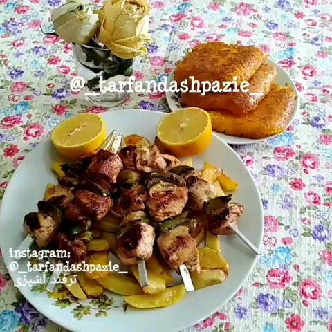 ویدیو کلیپ آشپزی | طرز تهیه شیش طاووق