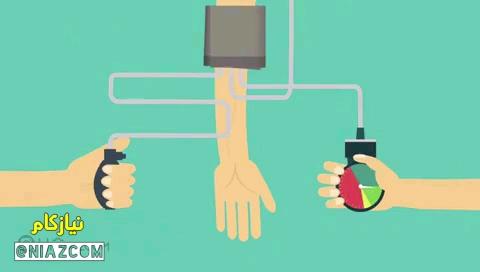 آموزش گرفتن فشار خون