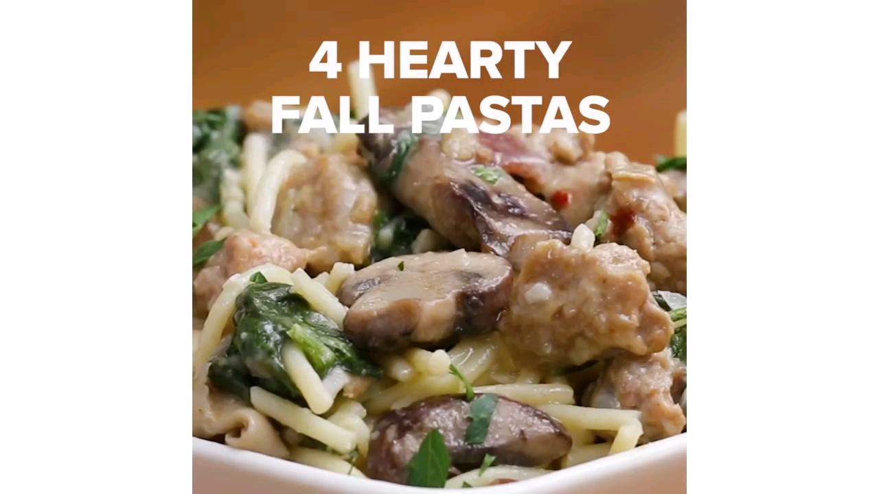 طرز تهیه ۴ مدل پاستا لذیذ و خوشمزه