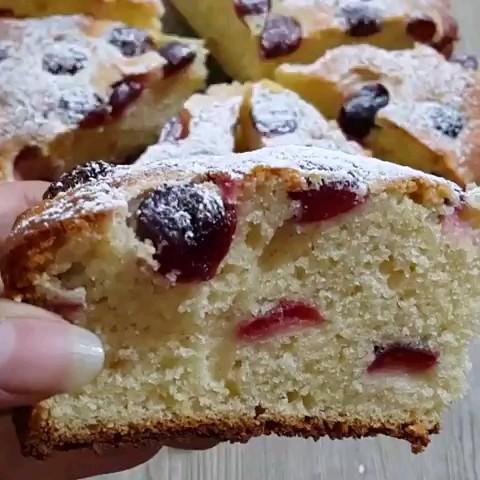 فیلم روش پخت کیک گیلاس | طرز تهیه کیک گیلاس