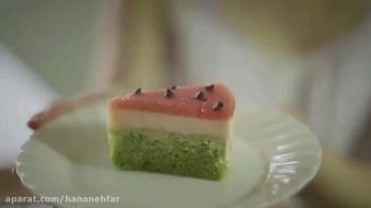ویدیو طرز تهیه کیک هندوانه ای