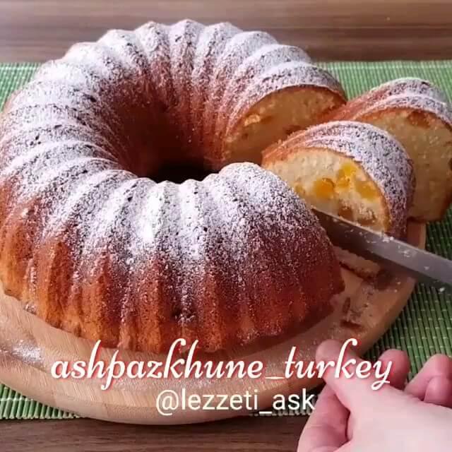 فیلم طرز تهیه کیک قیصی | دانلود فیلم های آشپزی