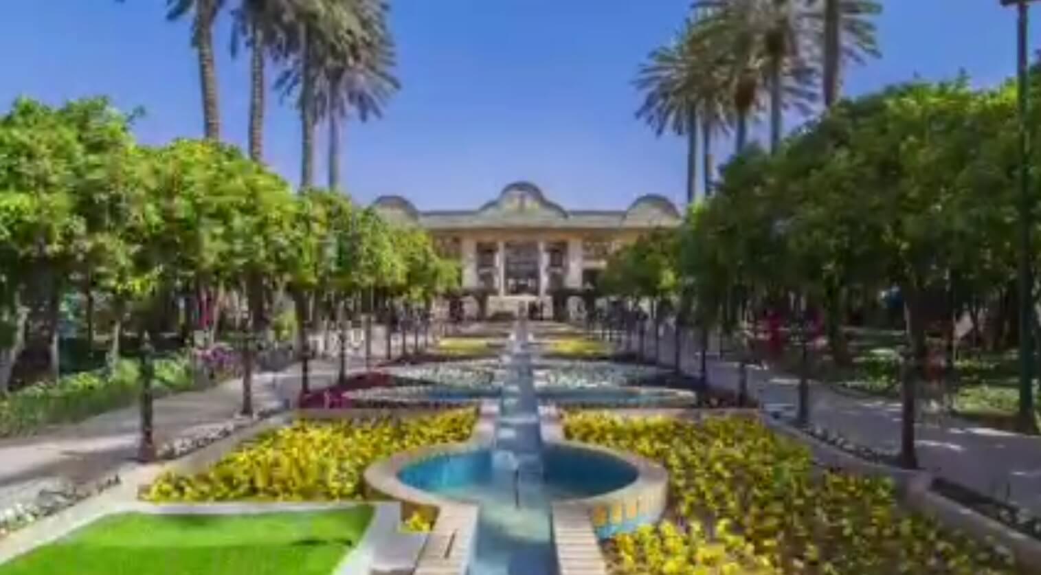 ویدیو ایرانگردی   باغ های شیراز