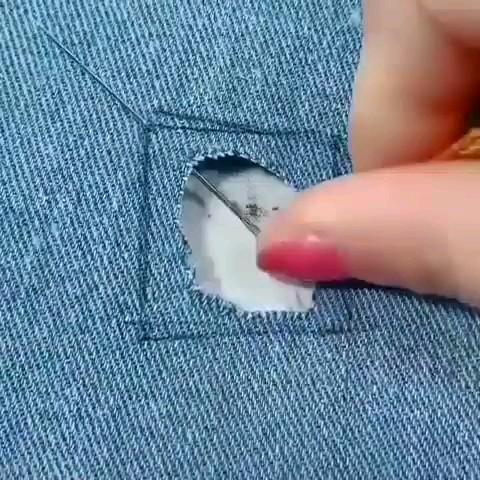 ترفند ترمیم پارگی لباس