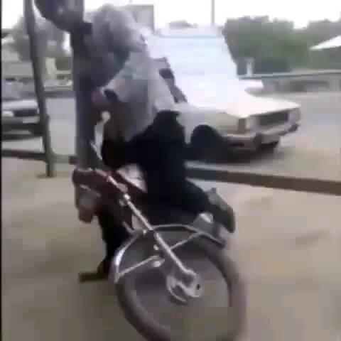 موتورسواری های خنده دار ایرانی