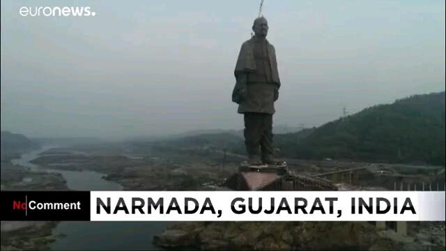 فیلم ساخت بزرگترین مجسمه جهان در هند | مجسمه ۱۸۰ متری