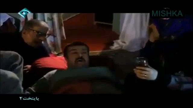 سیلی زدن بابا پنجعلی به ارسطو در سریال پایتخت