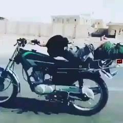 موتورسوار فقط ایشون :)))