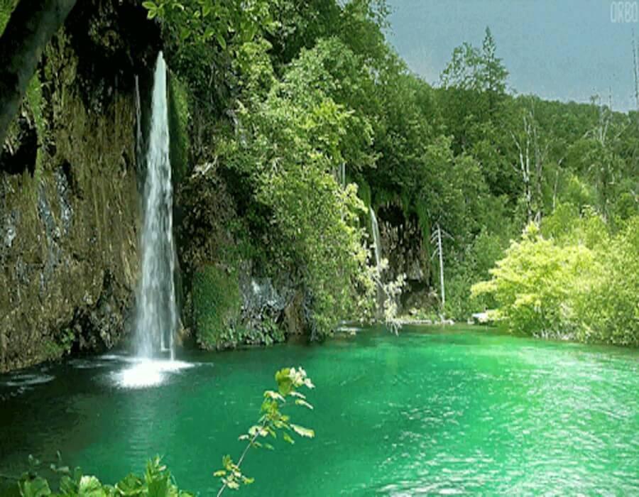 عکس متحرک آبشار