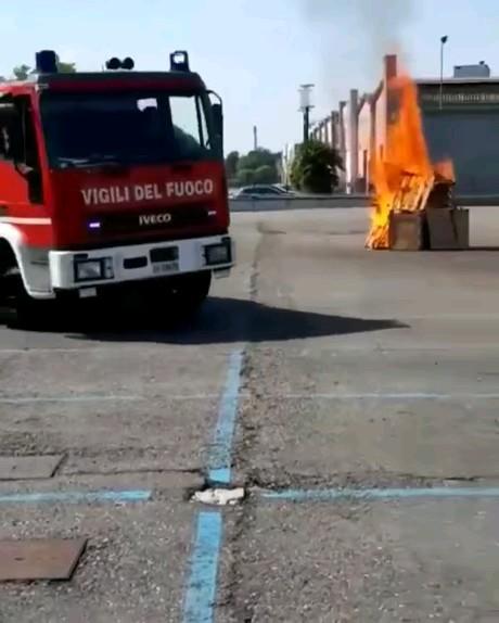 مثلا مانور آتشنشانیه !
