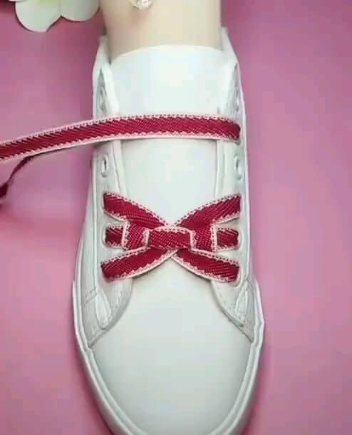 یک ایده جدید برای بستن بند کفش