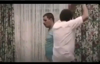 رقص مسخره و خنده دار جواد عزتی و عطاران