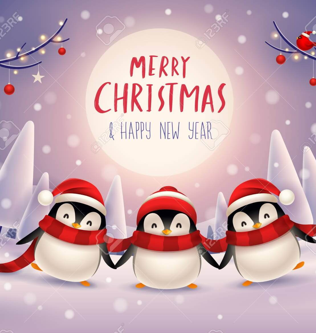 گیف متحرک تبریک کریسمس