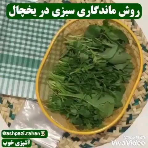 روش ماندگاری سبزی در یخچال | ترفندهای آشپزی
