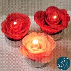 کلیپ چند ایده جالب درست کردن شمع