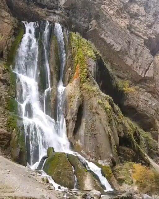 ویدیو گردشگری | آبشار سفید لرستان
