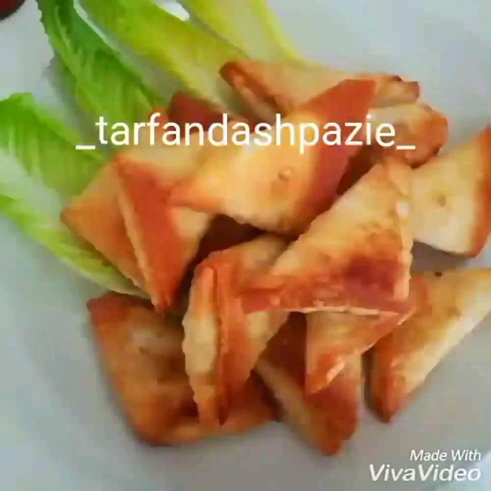 آشپزی آسان | طرز تهیه سمبوسه پیتزایی سرخ کردنی ، یوفکا