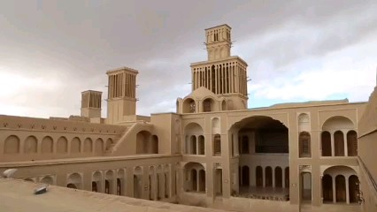 خانه آقازاده یزد ، تصویر اسکناس ۲۰۰۰ تومانی | فیلم گردشگری کوتاه