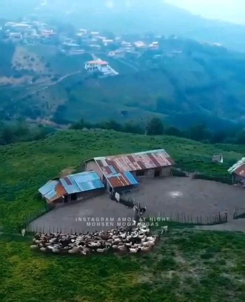 آمل گردی روستای چلاو مازندران