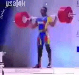 وزنه بردار خنده دار | ویدیو خنده دار