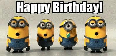 تولدت مبارک مینیون ها