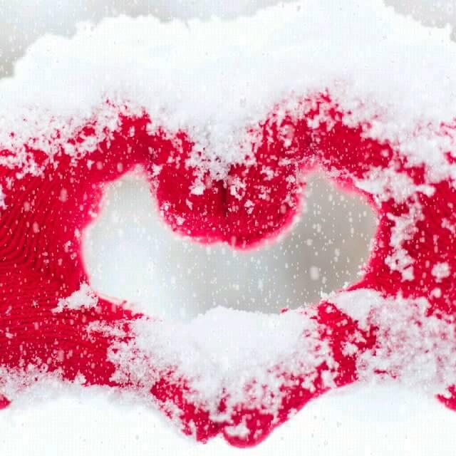 دانلود گیف عاشقانه زمستانی