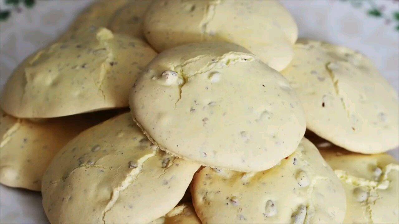 طرز تهیه شیرینی گردویی پفکی | ویدیو آشپزی
