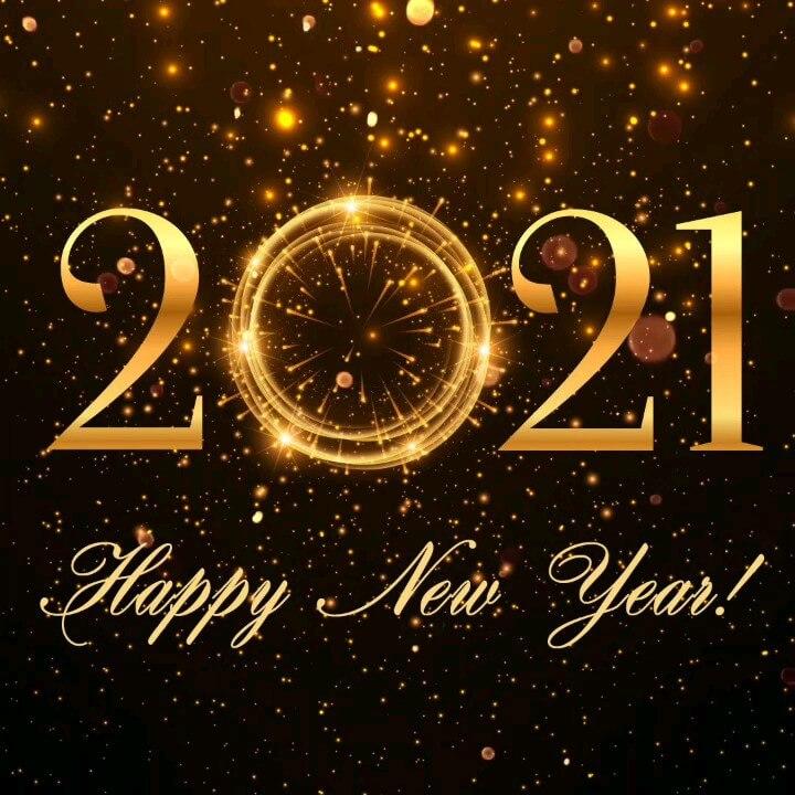 عکس متحرک سال ۲۰۲۰ مبارک