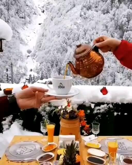 صبح زمستانی تون بخیر