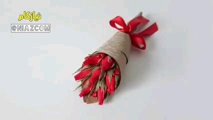 دسته گل شکلاتی، یه ایده باحال برای کادوی ولنتاین