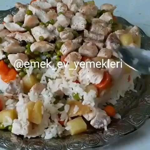 فیلم آشپزی آموزش پلو یونانی