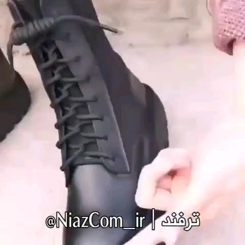 ترفند بستن بند پوتین سربازی