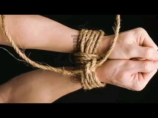 یک ترفند برای جدا کردن طناب های دست از هم