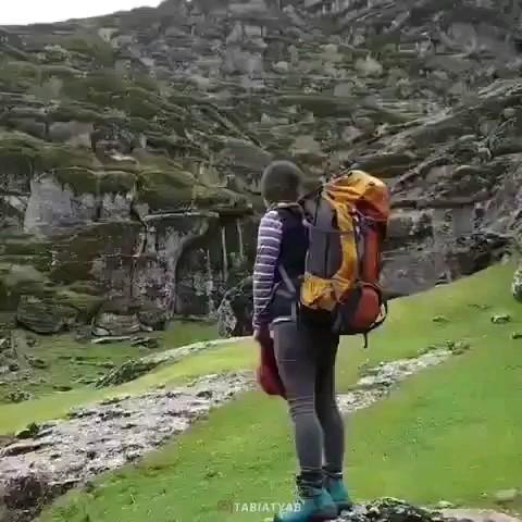 فیلمی زیبا از مخمل کوه لرستان