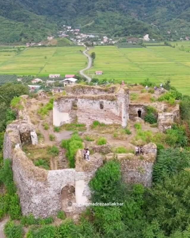 قلعه صلصال(سلسال) در لیسار گیلان