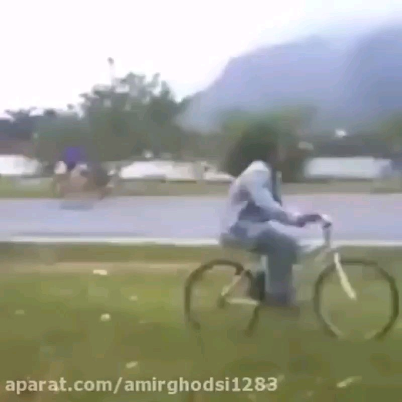 مرحوم دوچرخه سوار قابلی بود :))