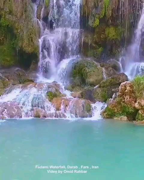 آبشار فدامی شهرستان داراب فارس