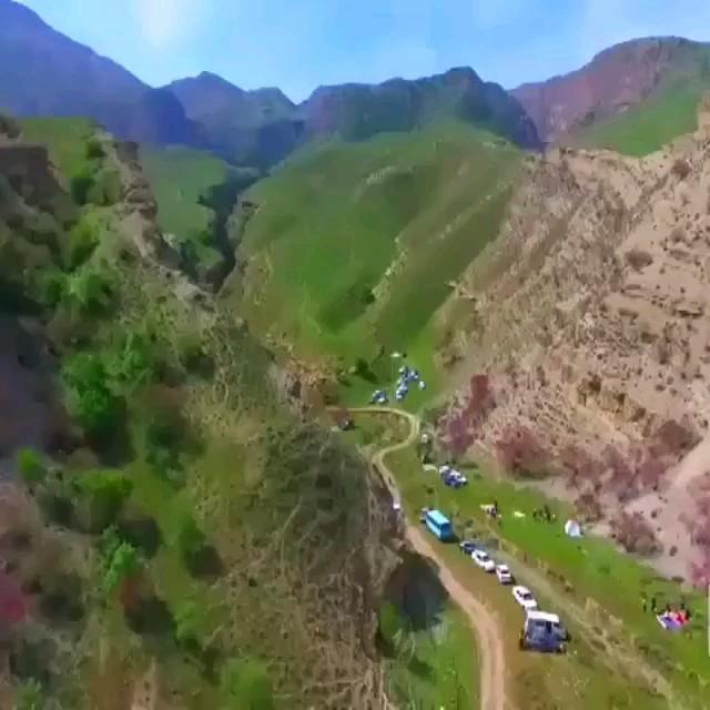 زیبایی های دره ارغوان خراسان رضوی درگز کلاته چنار